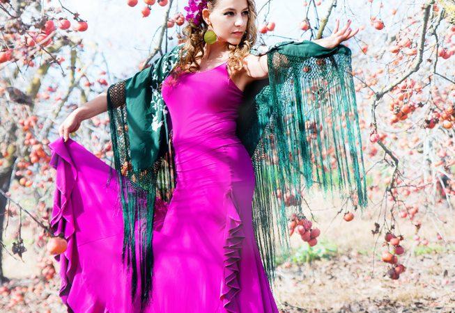 חצאית פלמנקו דגם איביזה צילום: ענבל לוי-יהודה