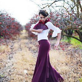 חצאית פלמנקו דגם מדריד